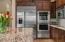 Stainless GE Monogram Appliances; Double Ovens, Refri