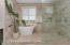 Master Bath Soaking Tub and Walk-in Shower