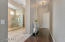 Master Suite Entry Hall and Bath