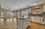 Kitchen/family room combination