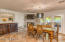 Spacious Great Room Dining and Eat in Kitchen to warm the home near a corner Fireplace