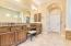Master bathroom, His and Her vanity