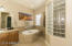 Master Bath with Separate Soaking Tub and Walk-In Shower
