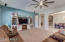 Open spacious floor plan.