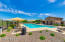 One of two sparkling community pools to choose from.