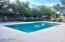 Heated community pool.