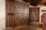 Hand-carved cabinetry