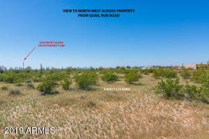 Property for sale at 00XX N Quail Run (Approx) Road, Florence,  Arizona 85132