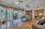 Wall of glass doors. Basement is perfect for a mother-in-law suite or teen game area!