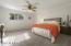 Master bedroom with huge walk in closet! Brand new carpet too!
