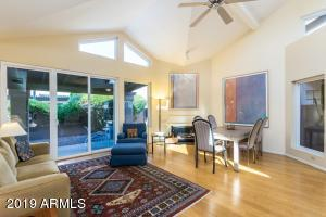 Vaulted Ceilings, Bamboo floors, Newer Anderson Windows and Simonton Doors