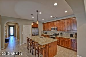 Granite Counters and Backsplash, Stainless Steel Appliances