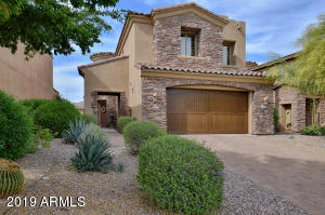 Excellent curb appeal and easy care landscape maintained by HOA
