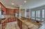 Kitchen opens into Family Room for entertaining