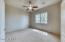 Secondary bedrooms are split from the Master Bedroom