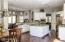 Gourmet kitchen open to great room