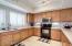 Light, bright, open kitchen!