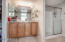 Master Bathroom with Quartz countertops