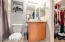 Private attached bathroom with Quartz countertops