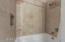 Tiled tub/shower