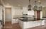 Kitchen with Center Island, Wolf stove and Sub-Zero refrigerator