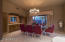 Large, Formal Dining Room has table that seats 10 and is open to the Great Room