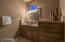 His Master Bath with Walk-In Closet and Separate Rooms for Walk-In Closet and Shower