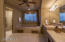 """Luxuriate in """"Her"""" Oversized Master Bath with Make-up Area, Jetted Tub, Walk-In Closet. Separate room with large, Walk-In Shower"""