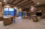 High Wood-Beamed Ceiling & Fireplace