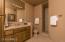 Bedroom 2 En Suite Bath has Walk-In Shower and Exit to Patio