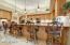 large breakfast bar