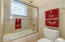 Jack & Jill bathroom for bedroom 3 & 4