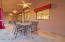 Travertine patio & ceiling fans