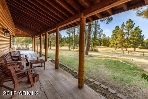 It's time to get out of the heat and begin enjoying the views from your front porch!