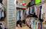 Built in closet organization