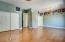 $5500 in wood floors. Wall was removed between 2 bedrooms to make this one large room.