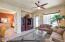 Casita Living Room and bedroom