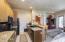 Casita kitchen/living room