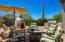 Kiva sitting area/BBQ