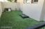 High Quality Artificial Turf, WiFi Misting System On The Shady Side Of The House!