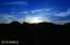 Sunset over saddleback