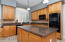 Check out the amazing cabinets and counter tops.