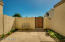 Nice, quiet and private courtyard to enjoy the best of Arizona living.