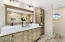 Double Vanity & Linen Cabinet By Restoration Hardware