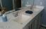Double sinks, master bath