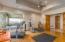 Gym adjacent to master
