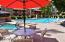 This Hot Tub and Pool is just steps away from unit 131 !