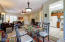 Great Sight Lines In this open concept living /dining & Kitchen