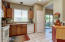 Kitchen is very functional with everything you'll need.