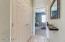 Dbl Door Storage in hallway to Guest Bedroom
